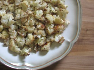 roasted cauli